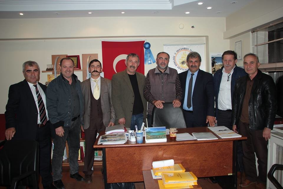 Yönetim kurulumuz toplandı