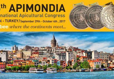 Dünya Arıcıları Apimondia 2017 İstanbulda Buluştu