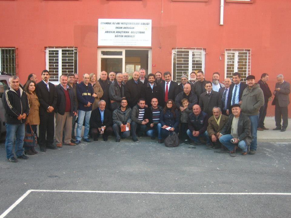 İstanbul Üniversitesi ile birlikte Çatalcada Arıcılık Semineri