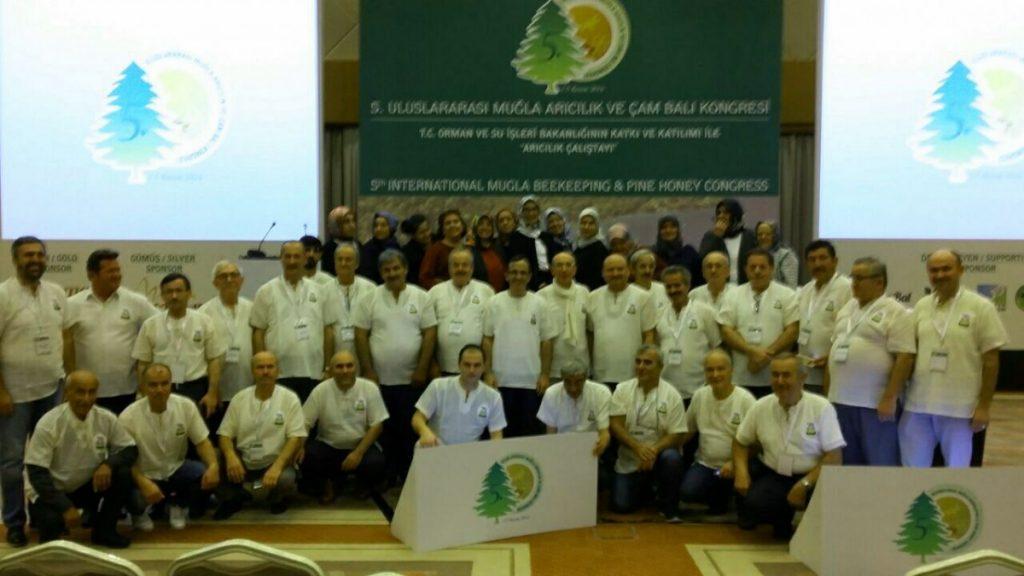 Uluslararası Muğla Arıcılık ve Çam Balı Kongresine Katıldık