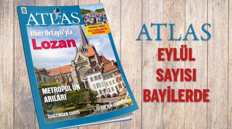 Atlas Dergisi Eylül Sayısında İstanbuldaki Arıcılık Faaliyetleri Konu