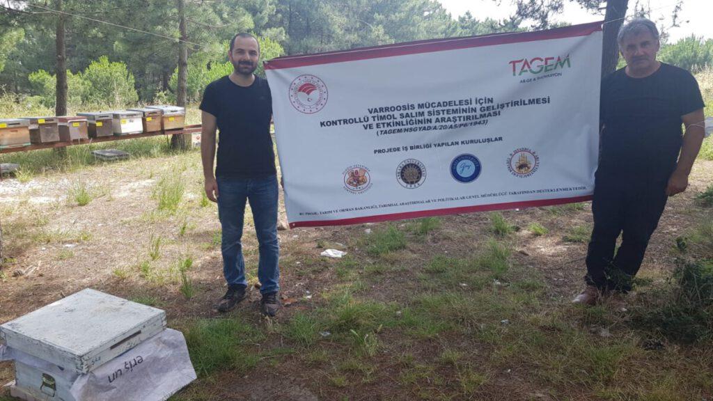 Varroosis Mücadelesi İçin Konrtollü Timol Salımı Sistemi Projemiz Başladı