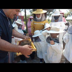Doğu Türkistan' lı anne ve çocuklar için arıcılık eğitimi düzenledik