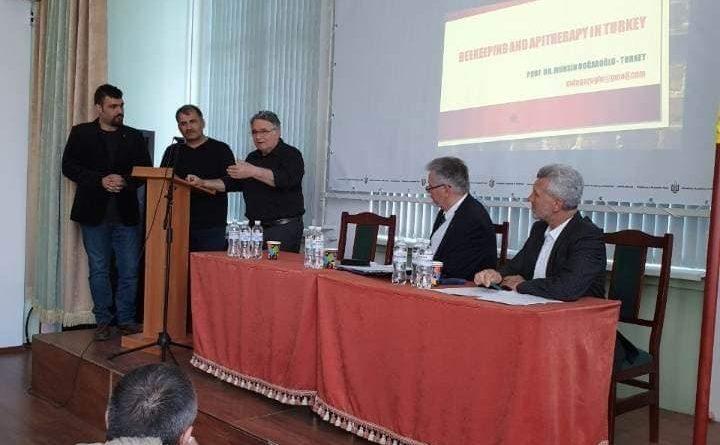 Ukrayna Kiev Arıcılık Araştırma Enstitüsü ile ortak çalışmalar